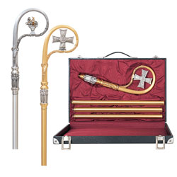 Bishop Crozier (Lamb), with Case