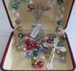 Multi Coloured Rosary Crystal