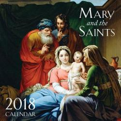 2018 Mary and the Saints Wall Calendar