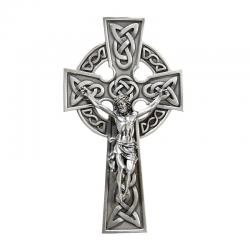 Crucifix Celtic Pewter 8 inch (LIMITED STOCK)
