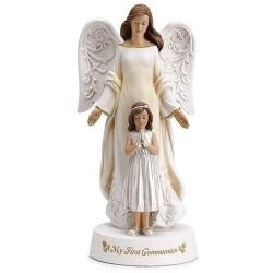 Angel First Communion with Girl