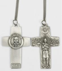 Cross Pendant Pope Francis Pectoral Cross 3.5 inches