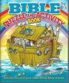 Bible Puzzle & Activity Book: Enjoy Stories, Solve Puzzles, Finish Doodles