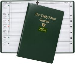 Daily Mass Record Book 2020