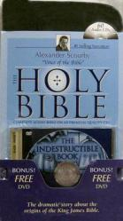 Alexander Scourby Bible-KJV [With The Indestructible Book]