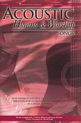 Acoustic Hymns and Worship Songs- Choral Book Satb