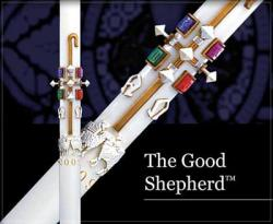 Paschal Candle THE GOOD SHEPHERD