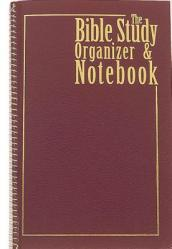 Bible Study Organizer & Notebook