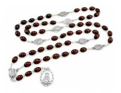 Brown Rosary Our Lady of Sorrows Chaplet
