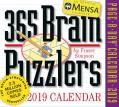 Mensa 365 Brain Puzzlers Page-A-Day Calendar 2019