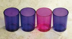 Advent Candle Votive Light Glasses/Holders (LIMITED STOCK)