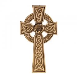 Cross Celtic Claddagh Bronze 5 inch (LIMITED SUPPLIES)