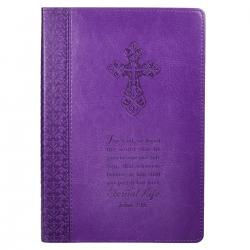 Journal - Lux-Leather - Purple