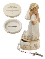 First Communion Keepsake Box Girl (LIMITED SUPPLIES)