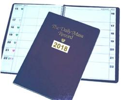 Daily Mass Record Book 2018