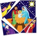 Christmas Puzzle Magnet, Jesus is the Centre Piece (Sold 10/pkg)