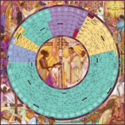 Year of Grace Liturgical Calendar 2018 Poster - Paper