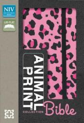 Animal-Print Collection Bible-NIV-Elastic Strap Closure