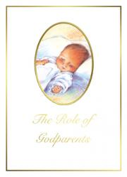Baptism Godparent Folder Portrait 100/box
