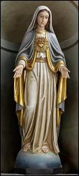 Mary Immaculate Heart Statue 48 inch