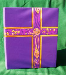Ceremonial Liturgical Binder Royal Purple